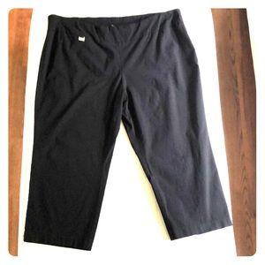 Alfani Women's Plus Size Cropped Pants in Size 24W